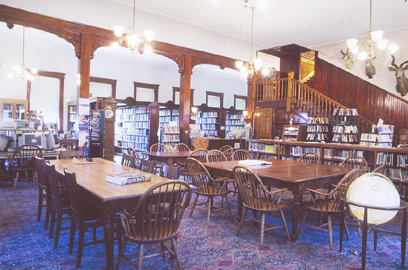 Pember Library photo by George Bouret