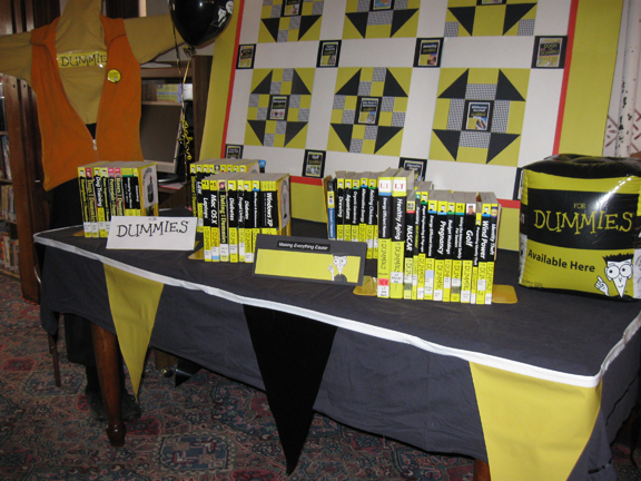 Dummies Library Display Contest