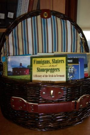 More Auction items (Book Baskets)