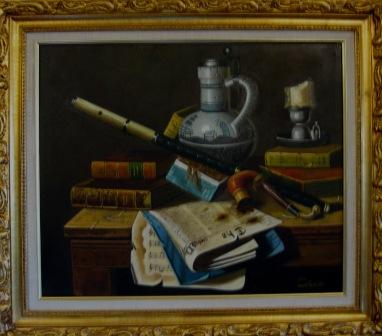 Auction items continued (framed art)
