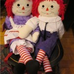 Item # 93 Raggedy Ann & Andy dolls donated by Karen Rizzo, valued at $50, opening bid $25