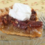 Item # 103 Kahlua Pecan Pie with kahlua whipped cream donated by Nancy Williams, valued at $125