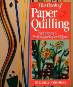 One of the quilling books we have available at the Pember Library