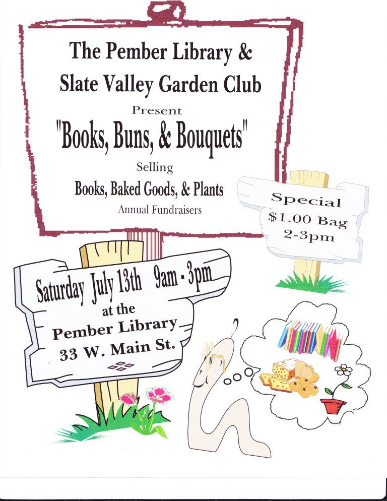 Annual Book Sale Coming Up!