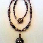11)  Jasper Pendant, handmade, valued at $25, starting bid $12.50
