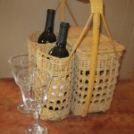 19) wine basket (2 bottles of wine, 2 wine glasses, handmade chocolates) valued at $40, starting bid $20