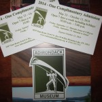 25) 2 Adirondack Museum complimentary admission valued at $36, starting bid $18