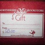 50) Gift Certificate - Northshire Bookstore valued at $25, starting bid $15