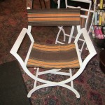 84) 85) Folding Metal Telescope Chair valued at $150 each starting bid $50 each