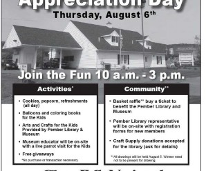 Community Appreciation Day Thursday August 6, 10-3