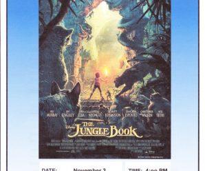 Family Movie November 17 4pm