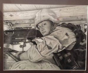 Veterans' Art ~ First Friday, November 3, 7-9PM