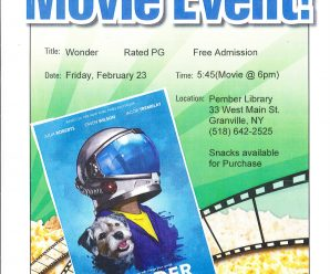 Family Movie Night — February 23, 6PM