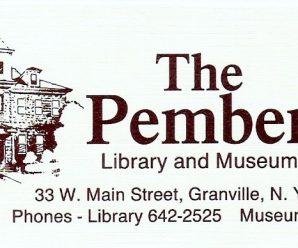 Change in Pember Board Meeting