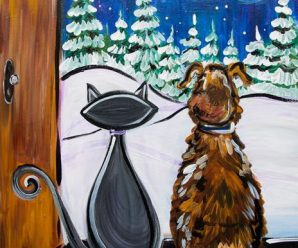 Paint & Sip at the Pember December 5, 6PM